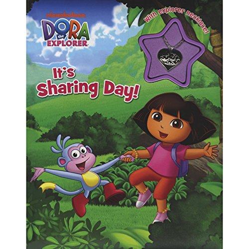 Dora the Explorer It's Sharing Day Charm Book (Dora the Explorer Charm Book) (Dora The Explorer Charms)