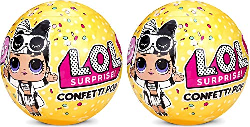 (L.O.L. Surprise Confetti Pop Series 3 Wave 2 Bundle Of 2 Dolls)
