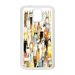 Personalised Phone case cat For Samsung Galaxy S5 S1T3899