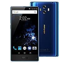 "Ulefone MIX Smartphone 4G Android 7.0 (MTK6750T Octa Core 1.5GHz, 5.5"" Corning Gorilla Glass 3 HD Schermo, 4GB RAM 64GB ROM, 13MP+13MP+5MP Camera, Fingerprint ID, Dual SIM, 3300mAh Batteria) Nero"