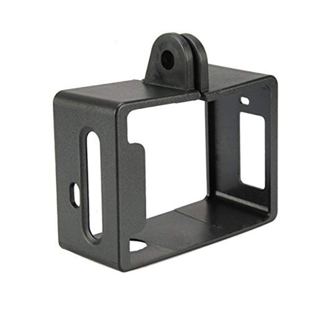 DGdolph Standard Protective Frame With Base Mount Accessories For Sj5000 Wifi Camera Black