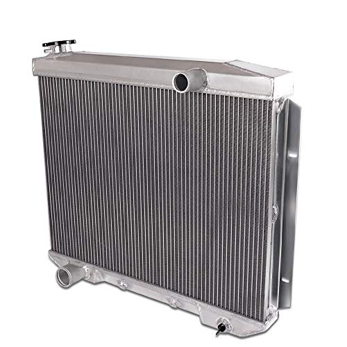 All Aluminum Racing Radiator CC5759 For 1957 1958 1959 FORD Fairlane/Victoria/Ranchero/Skyline V8 ()