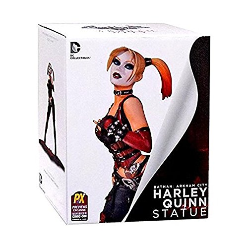 DC SDCC 2014 Exclusive Arkham City Harley Quinn Statue by Comics (City Statue Quinn Arkham Harley)