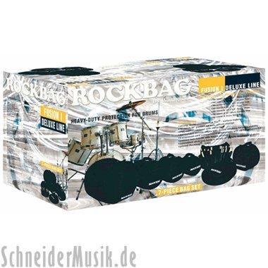 - RockBag Drum Bag Flat Pack, Fusion I Set