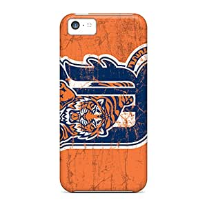 Durable Detroit Tigers Back Case/cover For Iphone 5c