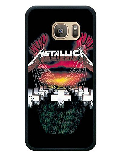 Price comparison product image S7 TPU Protective Case with Metallica Master Of Puppets Black for Samsung Galaxy S7 Black TPU Cover