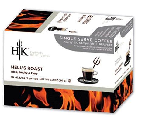 Price comparison product image HK Single Serve Coffee,  Hell's Dark Roast