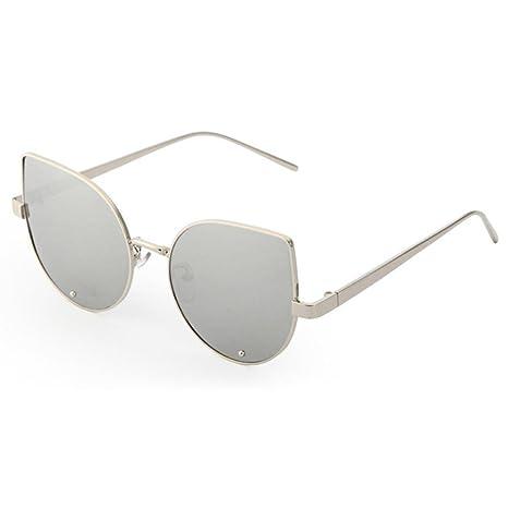 Gafas de sol con espejo retrovisor de metal para hombres y ...