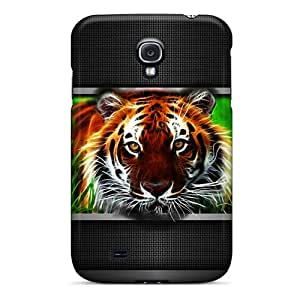New Design Shatterproof YTxhI3662aGsnz Case For Galaxy S4 (tigre)