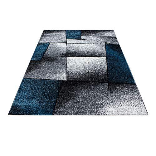 Carpet 1001 Moderner Designer Designer Designer Konturenschnitt 3D Wohnzimmer Teppich Hawaii 1720 Türkis - 160x230 cm B07BJDKVX7 Teppiche & Lufer 4aa0d1