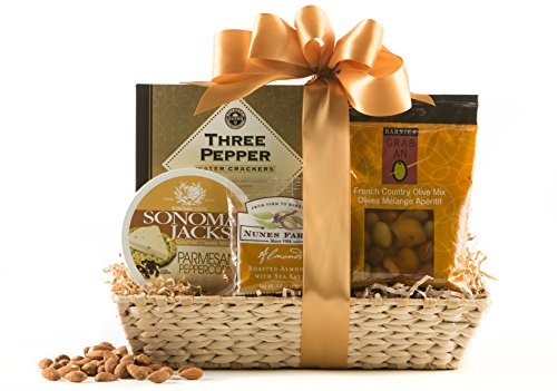 Wine.com Savory Snacking Gift Basket