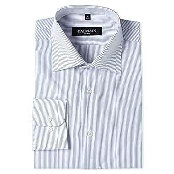 Balmain Shirt for Men - Navy/White