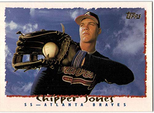 1995 Topps World Series Champion Atlanta Braves Team Set with Chipper Jones & Greg Maddux - 26 MLB Cards