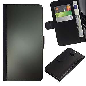 Paccase / Billetera de Cuero Caso del tirón Titular de la tarjeta Carcasa Funda para - Simple Pattern 38 - HTC One M8