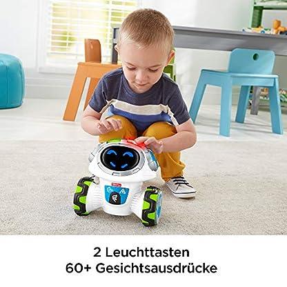 Fisher-Price FKC35 Lern-Roboter Movi interaktiver Lernspielzeug Roboter deutschsprachig, ab 3 Jahren 6