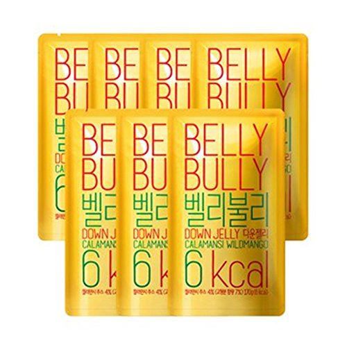 [BELLY BULLY DOWN JELLY] Calamansi Wild Mango Flavor - Konjac Jelly 6kcal 7EA -1Box Set / Diet food / Weight Loss / Vitamin C