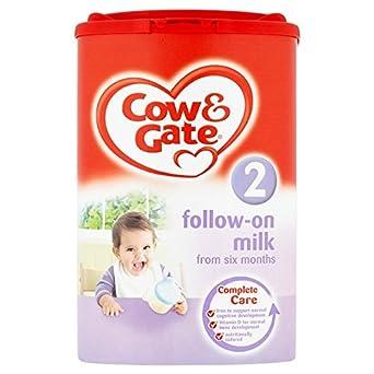 Cow & Gate 2 Folgemilch von sechs Monaten bis 900g (Packung mit 6 x 900g)