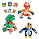 "Mega Bloks: Pokemon Torterra, Infernape and Empoleon Collection Set (11"" Box)"