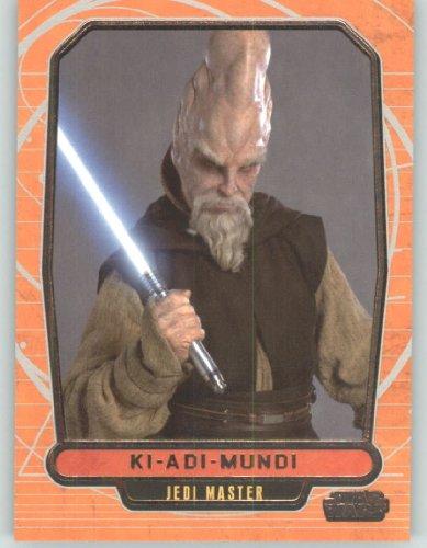 2012 Star Wars Galactic Files #79 Ki-Adi-Mundi (Non-Sport Collectible Trading Cards) from Star Wars