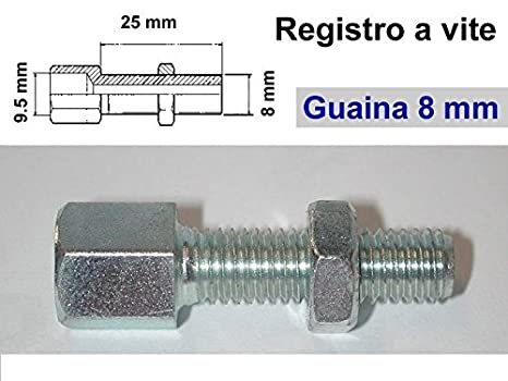 Registro cable freno embrague funda 8 mm., para moto, bicicleta, camper, vespa: Amazon.es: Coche y moto