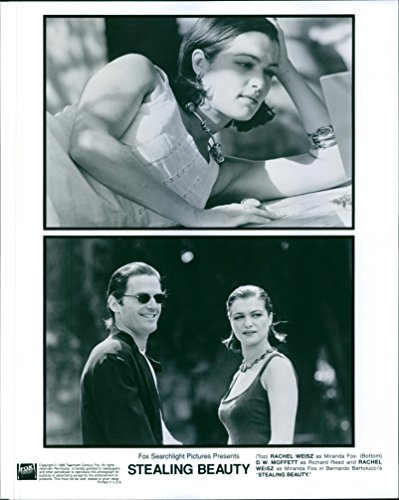 """Old-fashioned photo of Rachel Weisz and D. W. Moffett star in a 1996 drama film """"Stealing Beauty."""""""