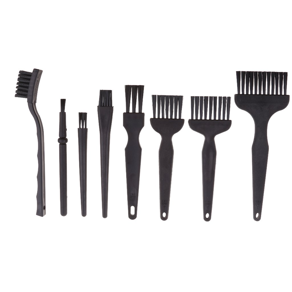 IPOTCH 8 pcs Kit de Herramientas de Cepillos para Limpiar Mó vil para iPhone Samsung