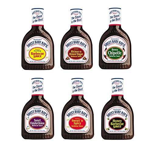 Sweet Baby Rays BBQ Sauce Variety Pack: Original/Honey BBQ/S