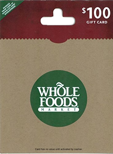 Whole Food (Whole Foods Market $100 Gift Card)