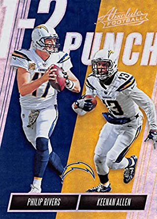 b59c55260 2018 Absolute Football One Two (1-2) Punch #15 Keenan .