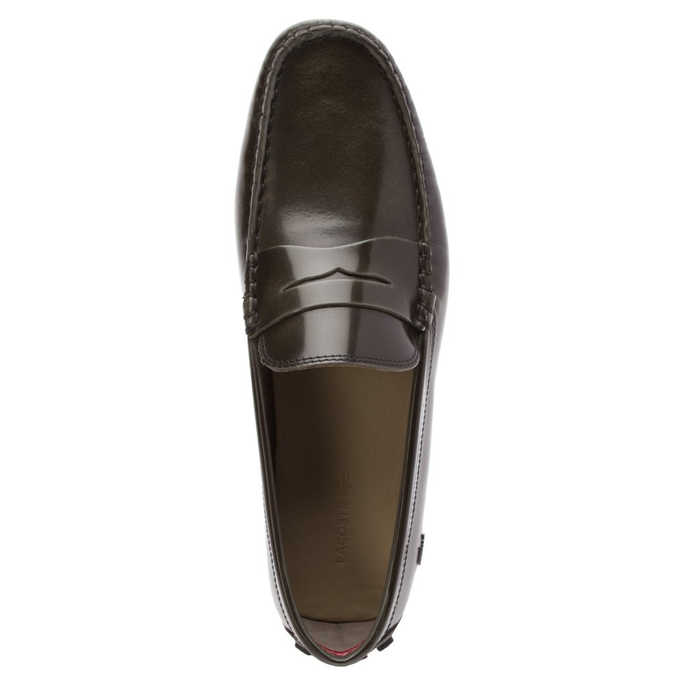 Amazon.com | Lacoste Mens, Concours 15 Slip on Drivers | Loafers & Slip-Ons