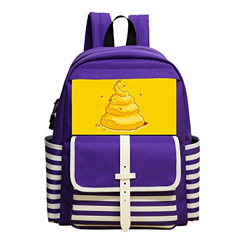 Price comparison product image Cartoon Cool Shit Man Rucksack School Shoulder Zipper Backpak Book Bag Daypack