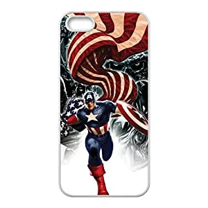 Capital American Fashion Comstom Plastic case cover For Iphone 5s