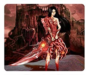 2012 Game Alice Madness Returns Fighting Rectangle mouse pad by atmyshop Your Best Choice