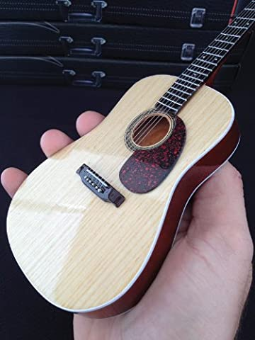 Axe Heaven AC-001 10-Inch Classic Natural Finish Acoustic Miniature Guitar Replica Collectible, Rosewood Finish (Acoustic Classic)