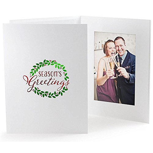 Christmas Greetings Picture Frame - 1