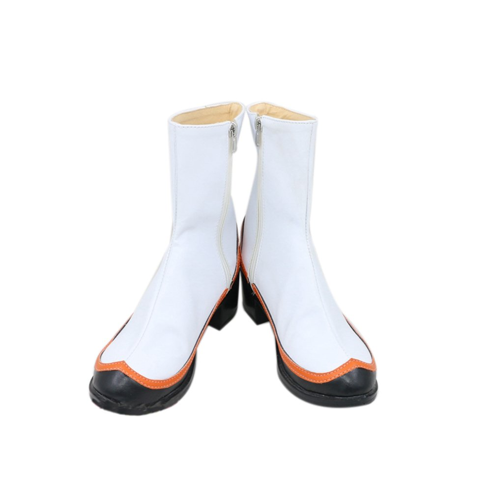 ROLECOS Zero Two Cosplay Shoes Womens Battle Shoes Boots White 7.5