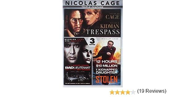 Nicolas Cage Triple Feature Edizione: Stati Uniti Italia DVD: Amazon.es: Nicolas Cage, Nicole Kidman, Josh Lucas, Malin Akerman, Eva Mendes, Val Kilmer, Fairuza Balk, Michael Shannon, Nicolas Cage, Nicole Kidman: Cine y