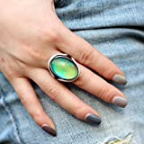 Mojo Handmade Polished Antique Sterling Silver
