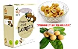 Crispy freeze dried fruit Longan Healthy Snack 100% all Natural Oil-Free 30 g. (1.06 Oz)