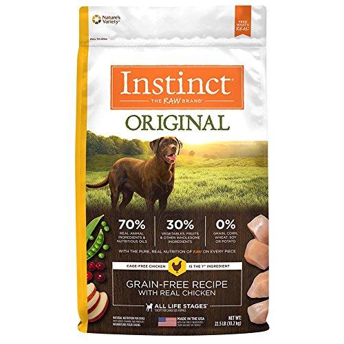 Instinct Original Grain Free Recipe Natural Dry Dog Food by Nature's Variety Chicken