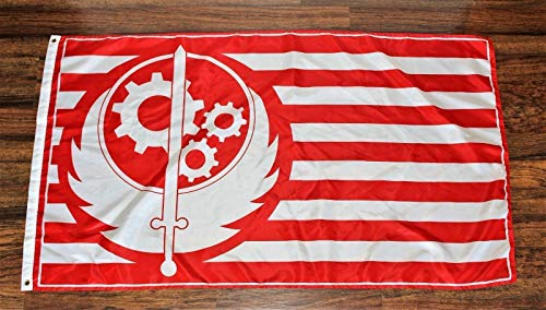 Lovely999 California Republic Fallout Flag Banner Brotherhood of Steel 3feet x 5feet