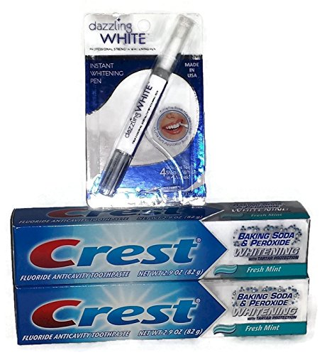 Sparkling White Teeth Bundle - Two Tubes of Crest Whitening