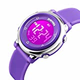 Girls Digital Watch Kids Sport Waterproof Outdoor LED Electrical Watches Luminescent Alarm Stopwatch