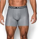 Under Armour Men's Original Series Printed Boxerjock, Steel/Steel, Large