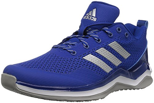 adidas Mens Freak X Carbon Mid Cross Trainer Collegiate Royal/Metallic Silver/White