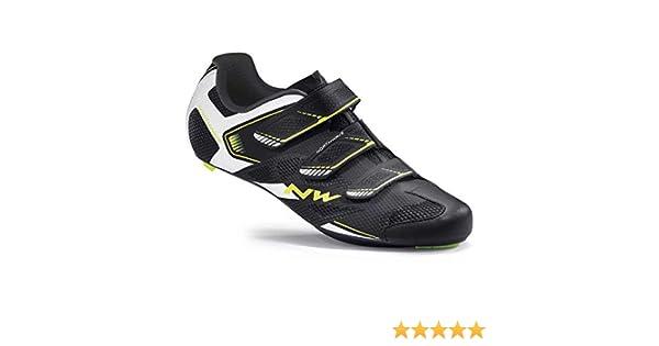 Zapatillas Northwave Sonic 2 Negro-Blanco-Amarillo 2016: Amazon.es: Deportes y aire libre