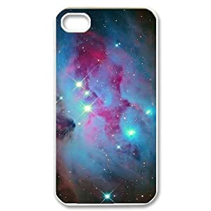 Galaxy Space Universe Customized Cover Case for Iphone 4,4S,custom phone case ygtg553183