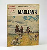 img - for Maclean's - Canada's National Magazine, September (Sept.) 14, 1957 - How George Washington Lost Canada / Victorian Fashion Photos By Notman book / textbook / text book