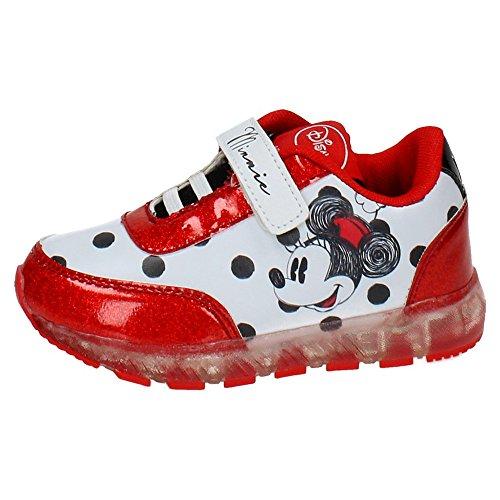 Disney Minnie 2200-2645 Mädchen Sneaker, Flashing Schuhe, mehrfarbig