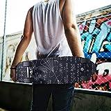 KLL Function Pattern Skateboard Grip Tape Sheet